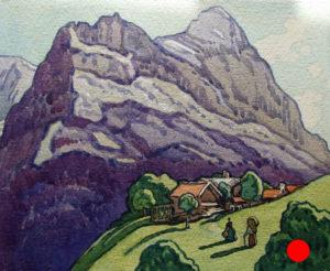 'Shadows, Grindelwald', SOLD